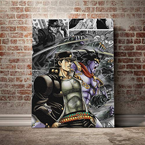 wZUN Decoración del hogar póster Impreso japonés Caliente Imagen de Personaje de Anime Arte de Pared nórdico Lienzo Pintura decoración de la Pared Regalo 60x80 Sin Marco