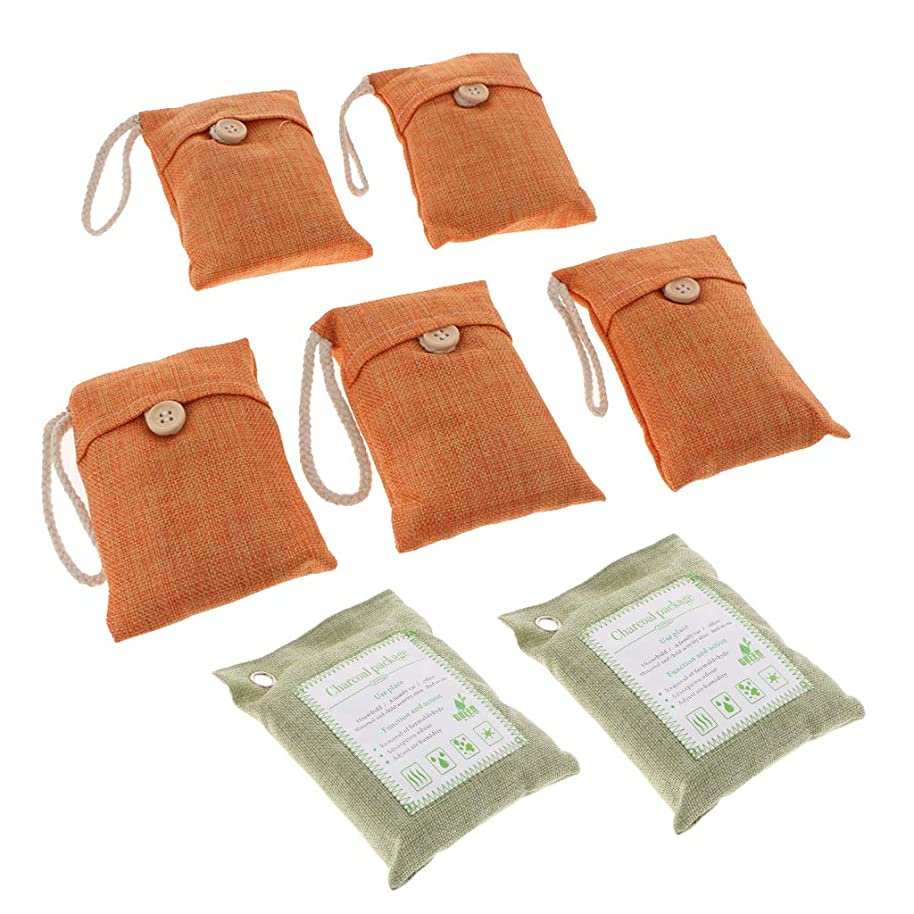 戦闘信念パイル天然竹炭 天然活性化 臭気除去剤 和風 芳香剤 無毒 無香料 7本