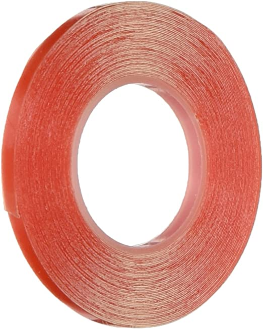 Strong Super Slim 3mm Double Sided Clear Tape Heat Resistant Tape 50M GS
