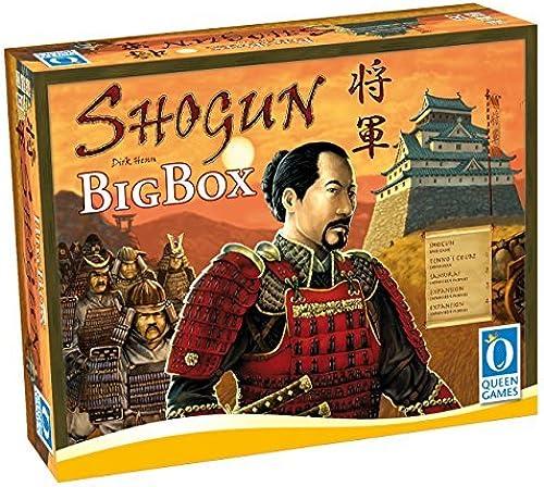Queen Games Shogun Big Box Strategy Board Game by