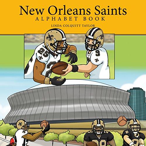 New Orleans Saints Alphabet Book cover art