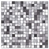 BeNice Metal Kitchen Backsplash,Wall Tiles Peel and Stick Adhesive...