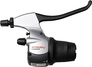 SHIMANO Nexus-8S20 8sp Revo shift/brake-lever, blk/sil