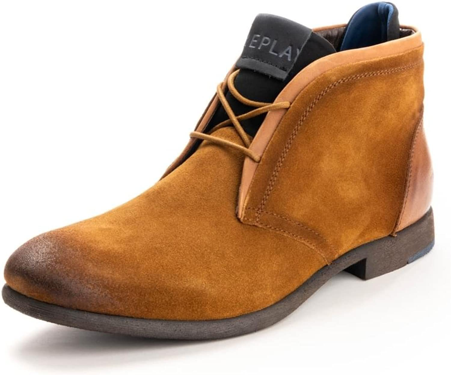 Replay Leather Mens shoes GMC42 .003.C0021L