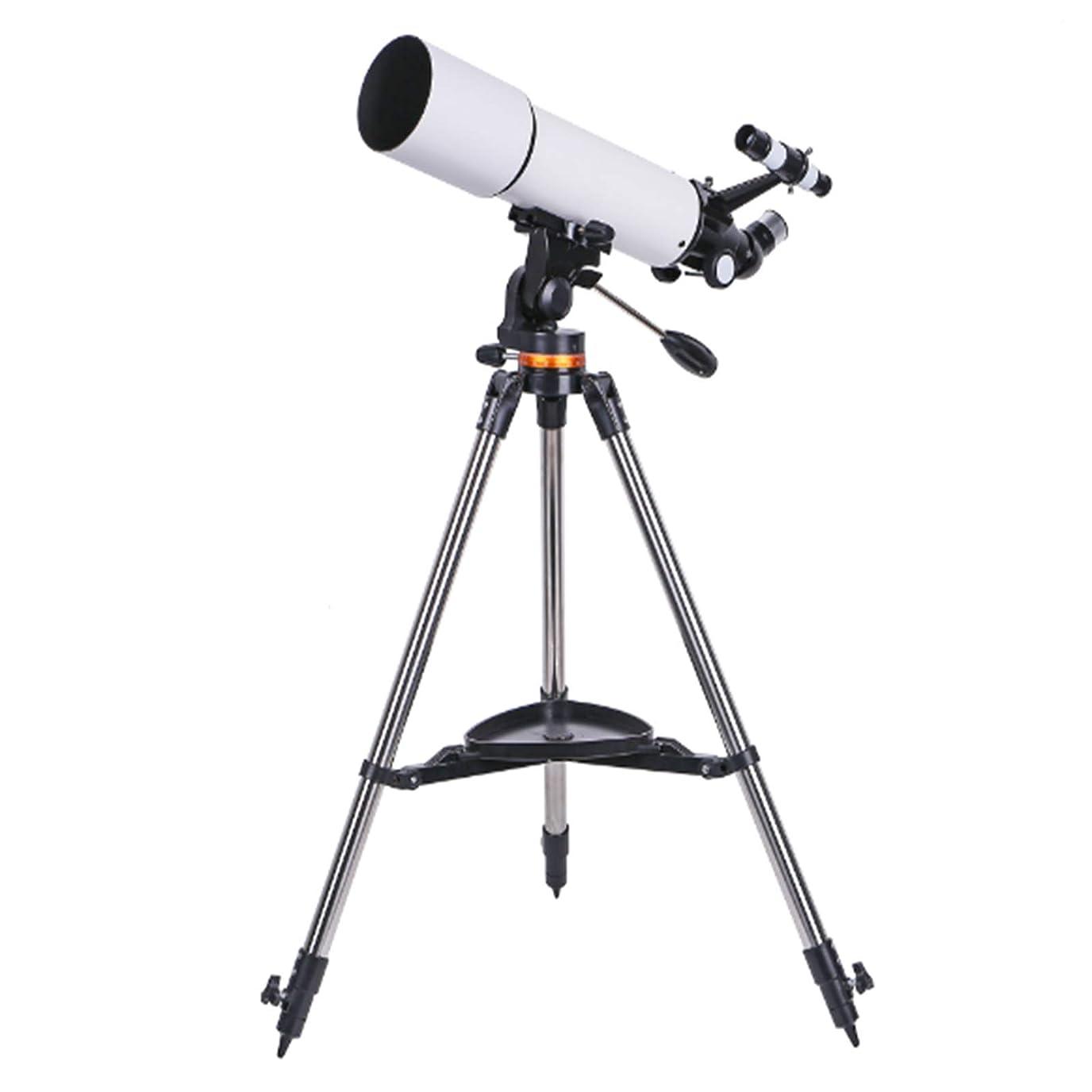 十連帯常識CZZ11望遠鏡、80mmの口径500ミリメートル、キャリーバッグで大人子供初心者-旅行望遠鏡のためのAZ天文屈折望遠鏡