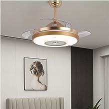 Kroonluchter Ventilator Kroonluchter, LED Plafondlamp, Woonkamer Lamp, Eenvoudige Moderne Eetkamer en Slaapkamer Lamp, Hel...