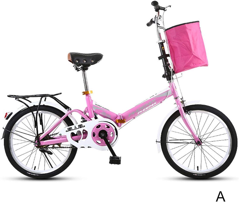 Fahrradklappfahrrad Kinderfahrrad Junge Fahrrad Mdchen Fahrrad Single Speed Fahrrad, 16 Zoll Kann schnell gefaltet werden (Farbe   B, Größe   16INCHES)