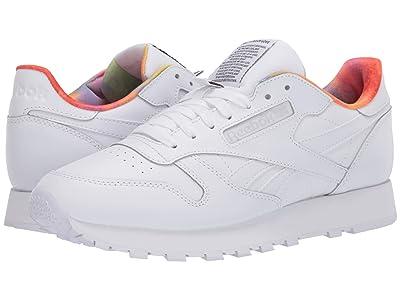 Reebok Lifestyle Classic Leather (White/White/White) Shoes