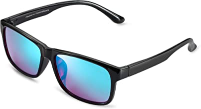 Colorblind Help Able to See Color Color Blind Correction for Deutan and Protan KTYX Colorblind Red Green Glasses for Men Glasses for Colorblind People to See Color