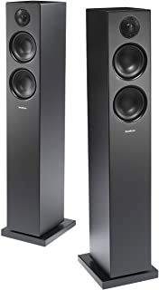 Audio Pro Addon T20 Bluetooth Wireless Home Theater Floor Standing Stereo Speakers - Pair - High Fidelity - Black