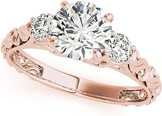 anillos de oro para mujer de compromiso