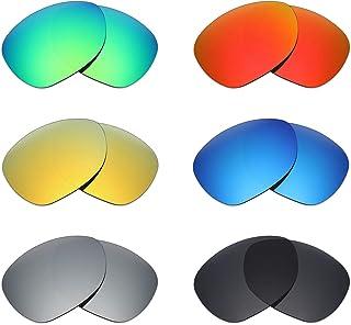 4412834cea Mryok - 6 pares de lentes polarizadas de repuesto para gafas de sol Oakley  Crosshair New