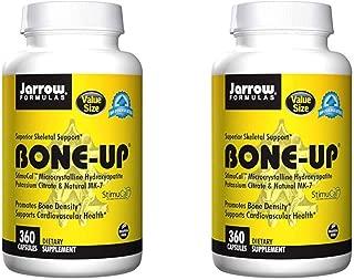 Jarrow Formulas Bone-Up - Superior Skeletal Support for Bone Density and Cardiovascular Health 360 Capsules (Pack of 2 - Total 720 Capsules)
