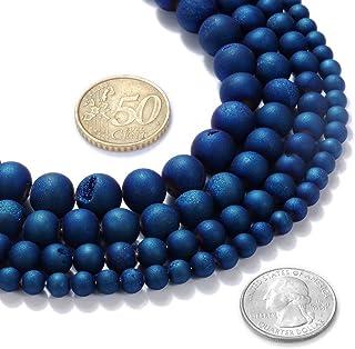 Druzy Slice Pendant Beads  Druzy Agate Beads Gemstone BeadsGeode Beads Jewellery Making Beads Supplies Agate Geode Strand11 pcs Lot