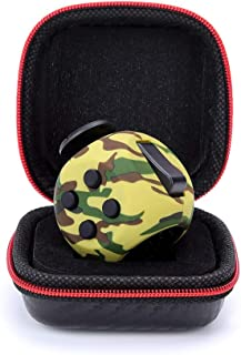 FIDGET DICE Fidget Toy Cube with Protective Case, Relieves Stress and Anxiety(Camo Green)