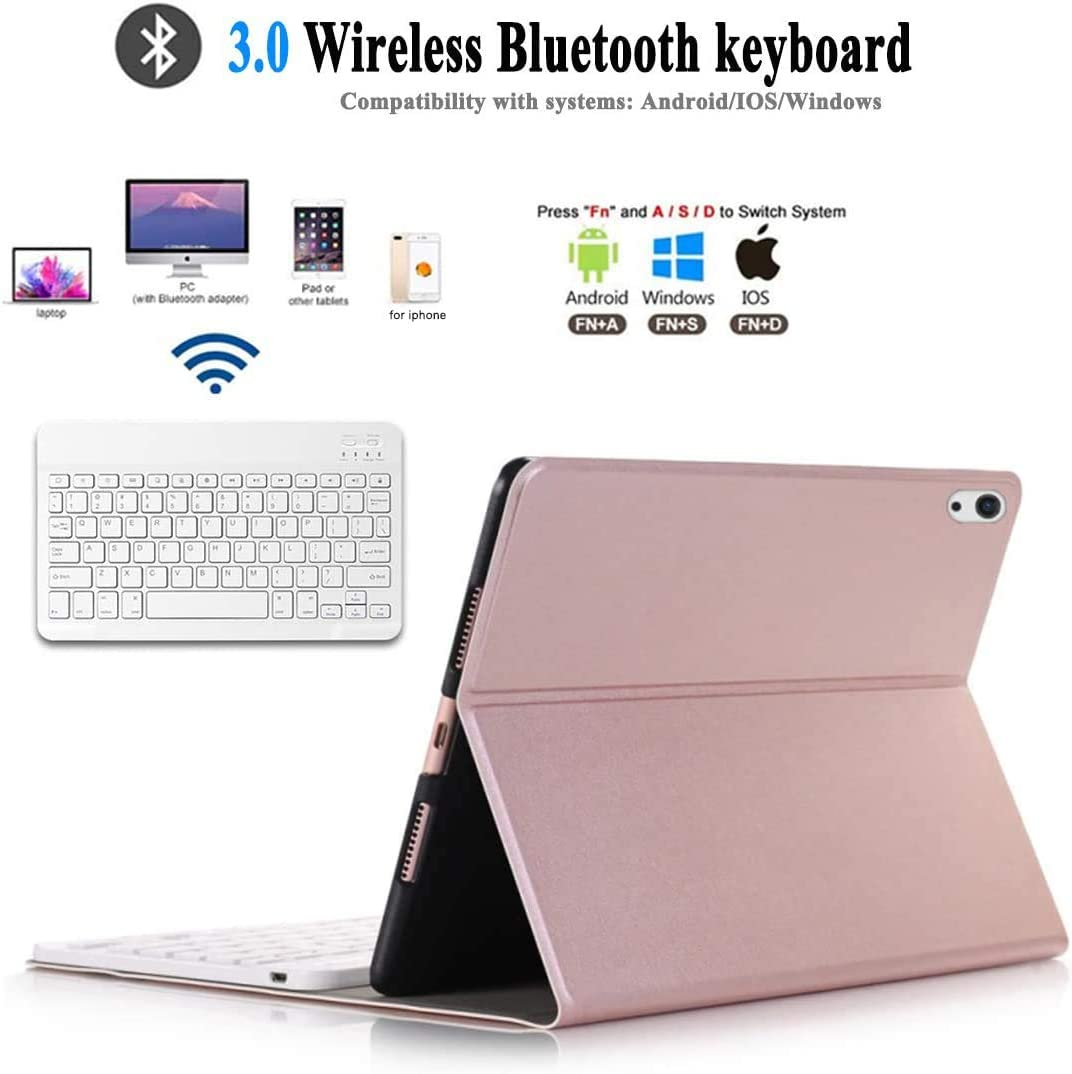 Auto Wake//Sleep iPad 10.9 Inch Keyboard with Case 2020 Cover for iPad Air 4 with Detachable Wireless Bluetooth Keyboard New 10.9 iPad Keyboard Case for iPad Air 4th generation 2020