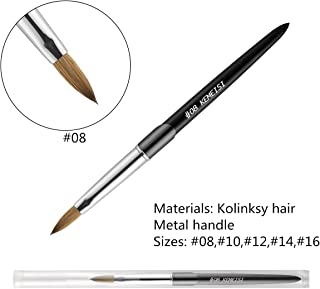Best kolinsky brushes nail Reviews