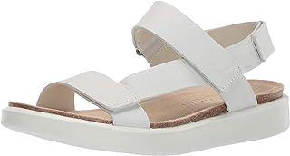ECCO womens Corksphere Strap Sandal