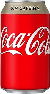 Coca-Cola - Coca-Cola zonder koffie - 33 cl - [Set di 8]