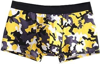 Men's Slip Boxer Shorts Modern Casual Fashion Vintage Floral Printing Underpants Elastic Comfortable Beach Swimwear Panties