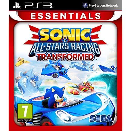 Sonic and All Stars Racing Transformed: Essentials (PS3) - [Edizione: Regno Unito]