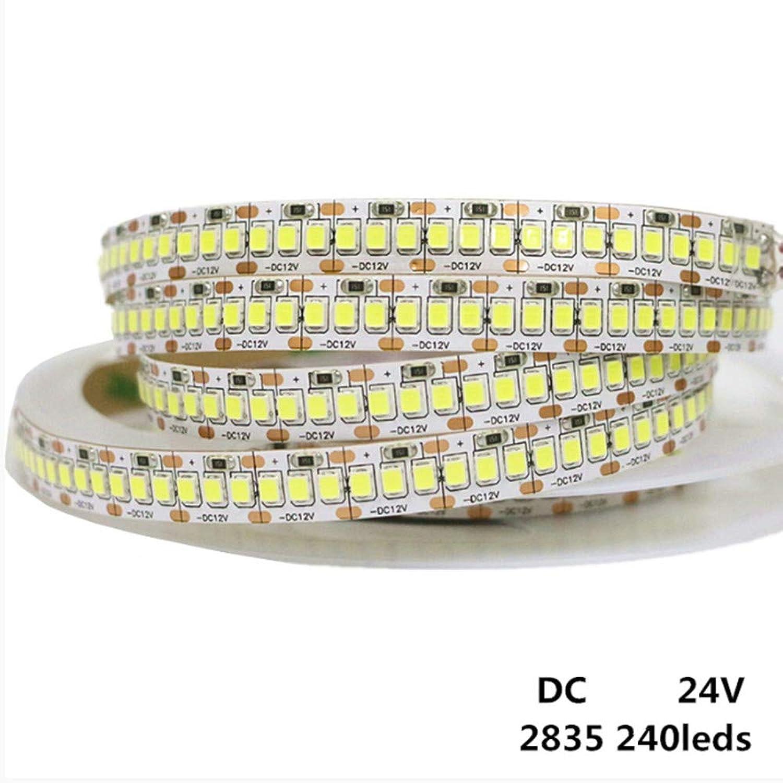 Led Bnder 5M 1200Leds Smd 2835 Perlen Führten Flexibles Licht Des Licht-Streifen-12V 24V 240 Leds M Geführtes Streifen-Wei