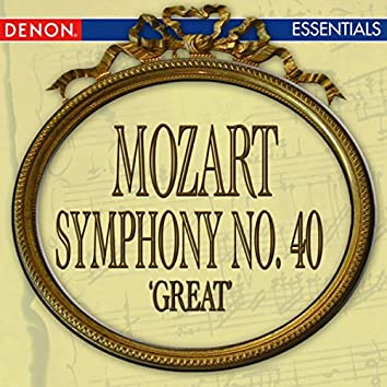 Mozart: Symphony No. 40 'Great'
