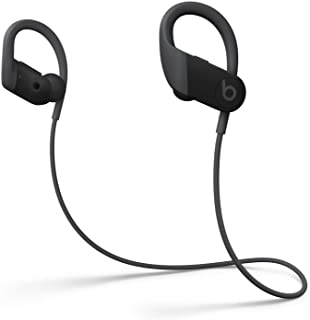 Powerbeats High-Performance Wireless Bluetooth Headphones - Black - MWNV2LL/A (Renewed)