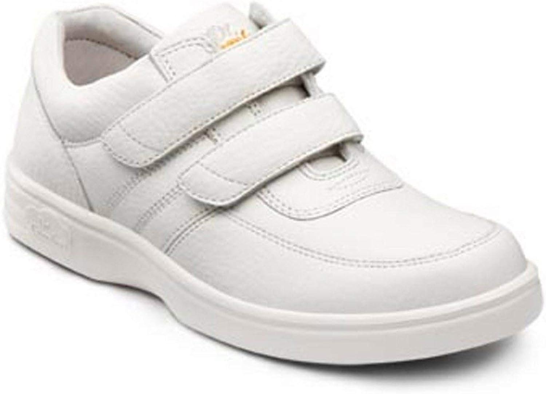 Dr. Comfort Women's Collette White Diabetic Casual Shoes