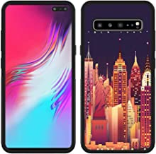 Samsung Galaxy S10 5G Phone Case, New York City Black Anti-Scratch Lithe Shockproof Rubber Bumper Protective Case for Samsung Galaxy S10 5G