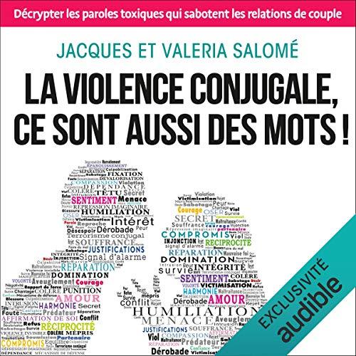 Couverture de La violence conjugale, ce sont aussi des mots