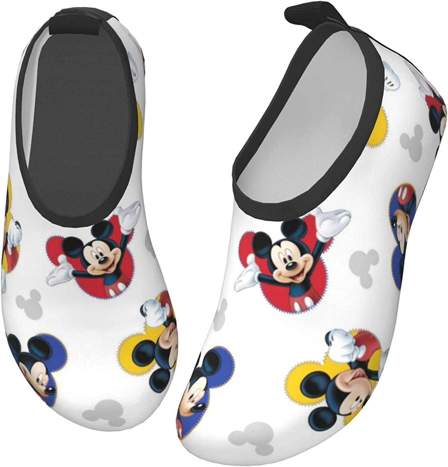 Mickey Mouse Kids Water Sports Shoes Non-Slip Quick Dry Barefoot Aqua Socks Beach Swimming Surf Walking for Boys Girls