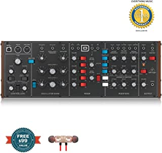 BEHRINGER Synthesizer MODELD includes Free Wireless Earbuds - Stereo Bluetooth In-ear and 1 Year Everything Music Extended Warranty