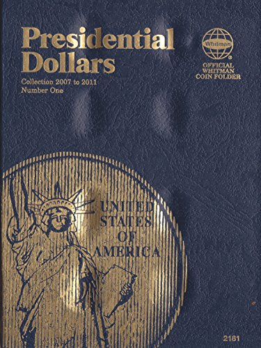 2007-2011 PRESIDENTIAL DOLLARS WHITMAN TRI-FOLD ALBUM SET No 2181 24 slots COIN; Album, Binder, Board, Book, Card…