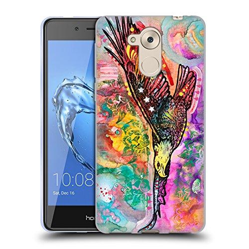 Head Case Designs Oficial Dean Russo Águila Vida Silvestre 3 Carcasa de Gel de Silicona Compatible con Huawei Honor 6C Pro / V9 Play