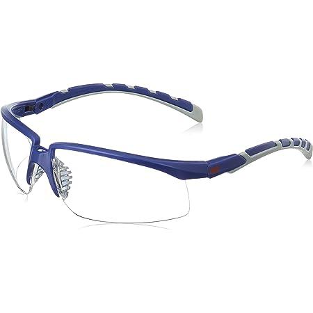 3M 71505-00002M Occhiali di Protezione, Antigraffio, Antiappannamento, Trasparente