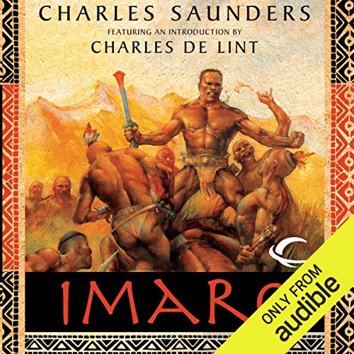 Imaro audiobook cover art