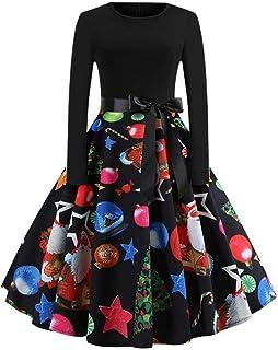 Suchergebnis Auf Amazon De Fur Weihnachtsmotiv Kleider Damen Bekleidung