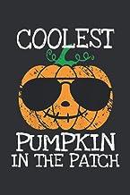 Coolest Pumpkin In The Patch (Dream Journal Notebook): Dream Journal Notebook For Men, My Dream Journal Notebook
