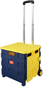 [Ship from AU] Anmas Home Folding Boot Cart,25 kg (Yellow)