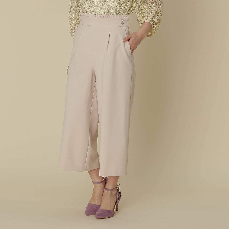 (クチュールブローチ) Couture Brooch 【WEB限定サイズ(SS?LL)あり】【洗える】ウエストフリルパンツ 50866010