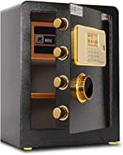 Wall Safes Home Safe Multiple Opening Methods Office Fingerprint Password Stainless Steel Filing Cabinet Anti-Theft Alarm ...