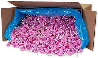 Dum Dums Color Party Lollipops, Hot Pink, Watermelon Flavor, Bulk 30lb Box, 2,340 Count