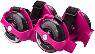 DAYONG Hot Flash Roller Skate Shoes Scooter Flashing Wheels Toys for Kids - Pink