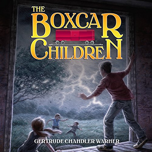 The Boxcar Children audiobook cover art