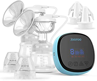 Double Electric Breast Pump - Portable Anti-Overflow, Ultra-Quiet and Pain Free Breast Pumps with 3 Modes & 9 Levels, Come...