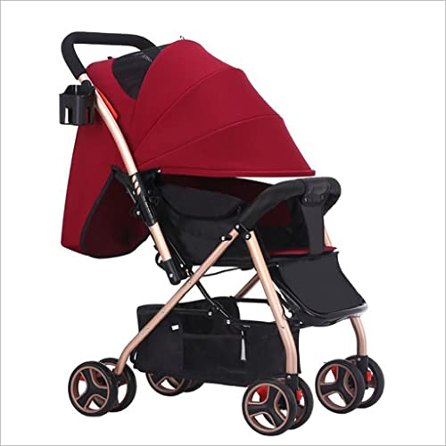 Bicicleta de bebé Baby Trolley Puede Estar Sentado luz portátil Plegable pequeño Mini Cuatro Estaciones Universal de los Niños Mano Paraguas Coche Triciclo Bebe (Color   7)