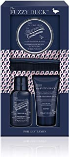 Baylis & Harding Fuzzy Duck Men's Pink Pepper & Oud Beard Kit–100ml Beard Shampoo and 50ml Face Wash to cleanse and leave him feeling invigorated, 50ml beard balm and comb to keep beard tidy and trim