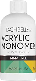 Tachibelle Professional Acrylic Liquid Monomer MMA FREE for Doing Acrylic Nails, MMA free, Ultra Shine and Strong Nail Made in USA 4 OZ