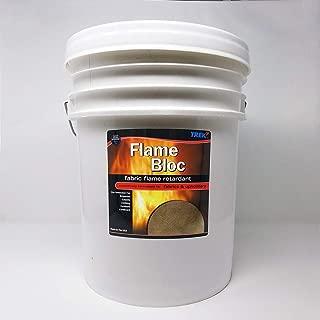 Flame Bloc Fabric Flame Retardant Protector Spray 5 gallons